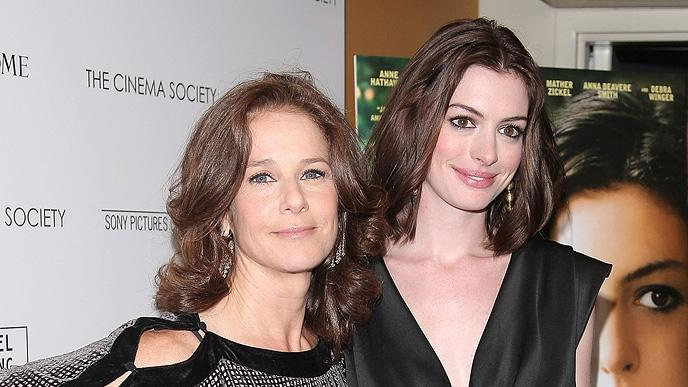 Rachel Getting Married NY Premiere 2008 Debra Winger Anne Hathaway