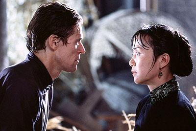 Willem Dafoe as Andre and Luo Yan as Madame Wu in Universal Focus' Pavilion of Women