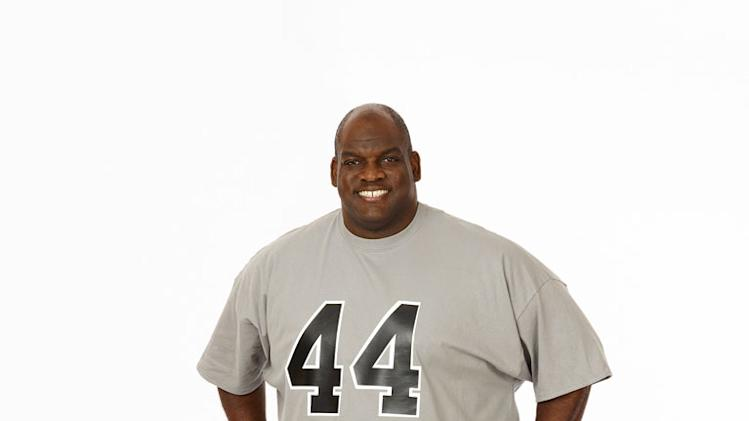 "Antone Davis competes on the twelfth season of ""The Biggest Loser."""
