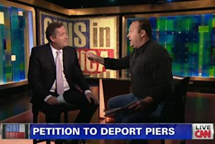Piers Morgan and Alex Jones on CNN (CNN)