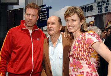 Will Ferrell , Robert Duvall and Vivica Ferrell at the Universal City premiere of Universal Pictures' Kicking & Screaming