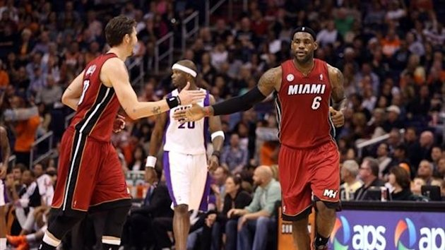 2012 Miami-Phoenix LeBron James