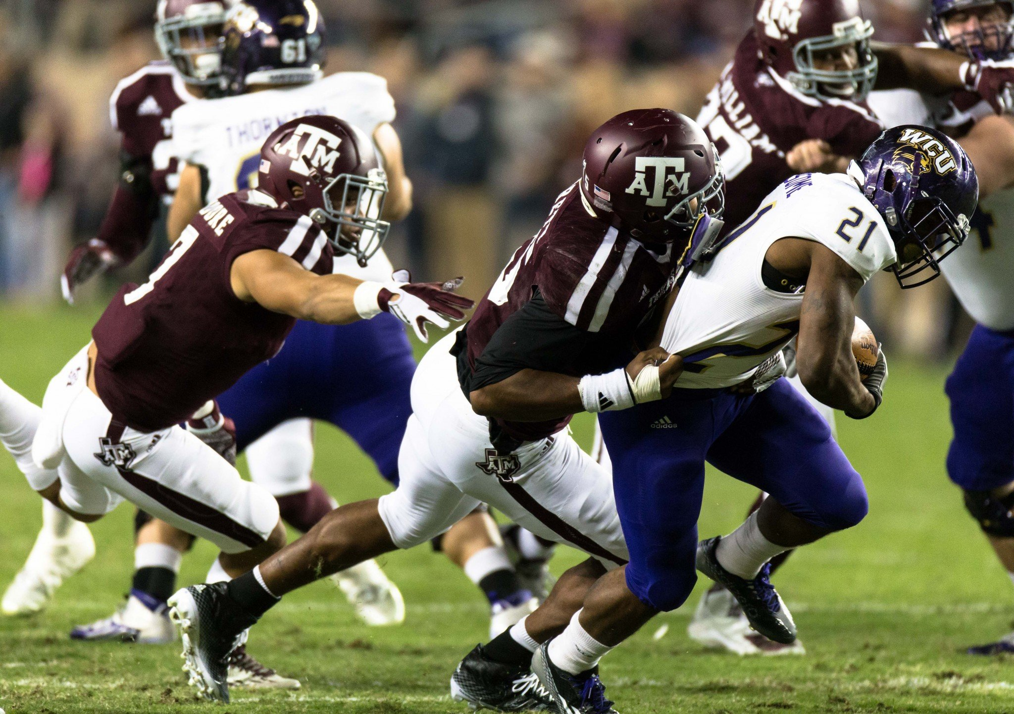Texas A&M's Myles Garrett could be the first pick in the draft. (AP Photo/Juan DeLeon)