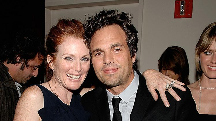 Blindess Screening 2008 NY Julianne Moore Mark Ruffalo