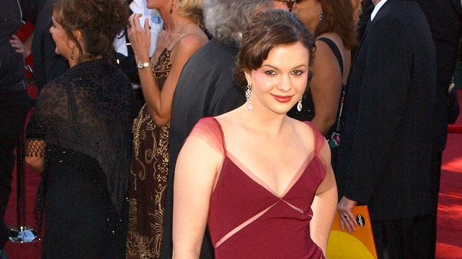 Amber Tamblyn at The 56th Annual Primetime Emmy Awards.