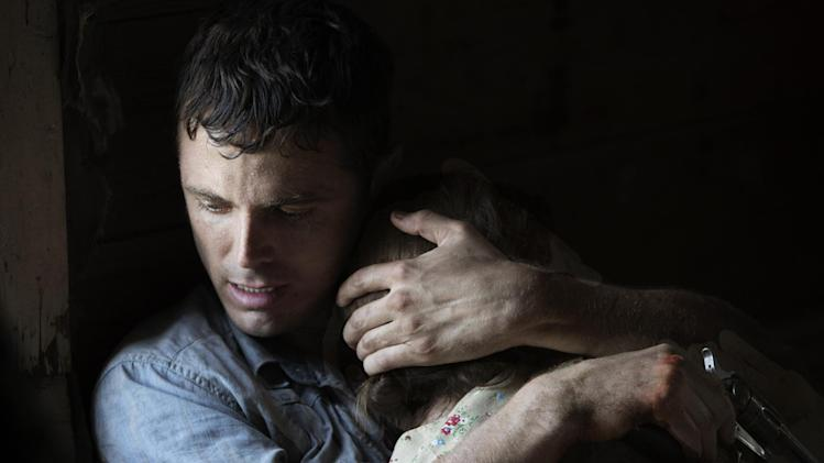"This film image released by IFC Films shows Casey Affleck in a scene from ""Ain't Them Bodies Saints."" (AP Photo/IFC Films)"