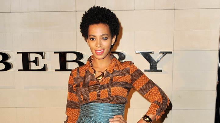 Solange Knowles Burberry Body Event
