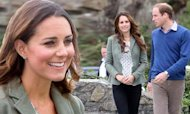 Kate's First Appearance Since Birth Of George