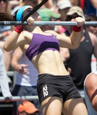 Meet Valerie Calhoun, CrossFit's youngest female competitor.