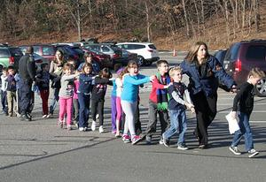 Sandy Hook Elementary School | Photo Credits: Shannon Hicks/Newtown  Bee