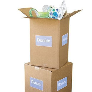 Even though you may not need an item anymore, someone else might. Donate it to a local charity.