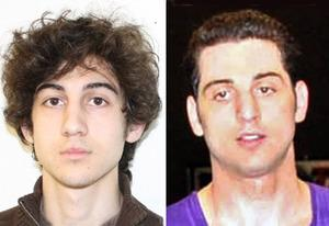 Dzokhar Tsarnaev, Tamerlan Tsarnaev | Photo Credits: FBI.gov; Glenn DePriest/Getty Images
