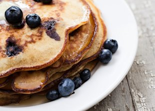Breakfast in Bed: Sam Talbot's Lemon Ricotta Hotcakes