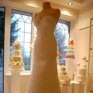 This 17 tier wedding dress cake took a week to make. (Facebook)