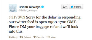 Will Social Media Help Kill Bad Customer Service? image british airways