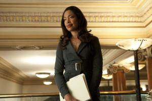 "SUITS -- Rules of the Game"" Episode 111 -- Pictured: Gina Torres as Jessica Pearson -- Photo by: Christos Kalohoridis/USA Network"