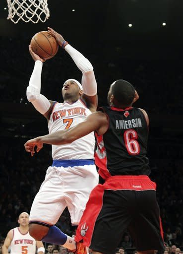 Anthony, Martin key Knicks on Kidd's 40th birthday