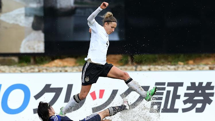 Japan v Germany - Algarve Cup 2013