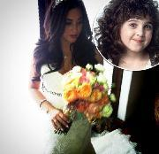 'Curly Sue' star Alisan Porter on her wedding day in Los Anegels on March 10, 2012  -- Twitter