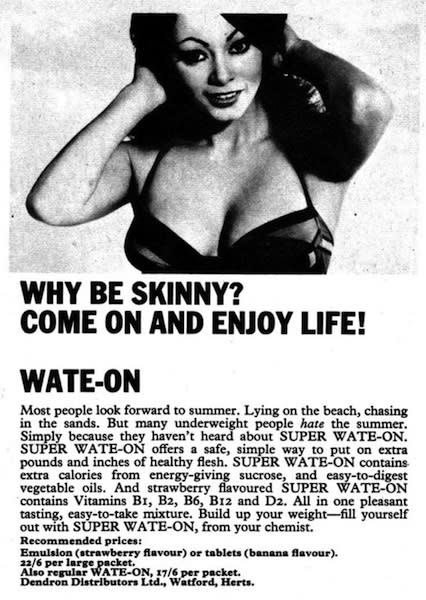 Why Be Skinny?
