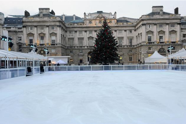 Atmosphere Somerset House Winter Ice Rink launch and photocall at the Strand London, England - 15.11.12 Mandatory Credit: WENN.com
