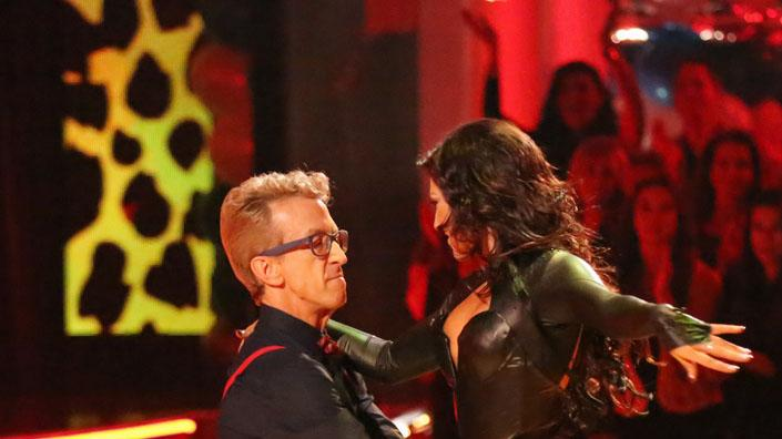 Andy Dick and Sharna Burgess (4/1/13)