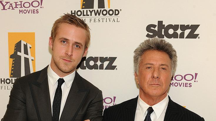 Hollywood Film Festival Awards Gala 2008 Ryan Gosling Dustin Hoffman