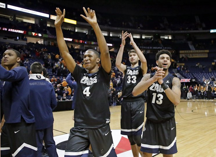 For the first time in program history, the Zags completed non-league play without a loss (AP).