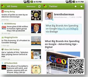 5 Cool Apps To Save You From Social Media Overload image My6Sense app for social media news