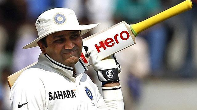 Cricket - Sehwag dropped by India