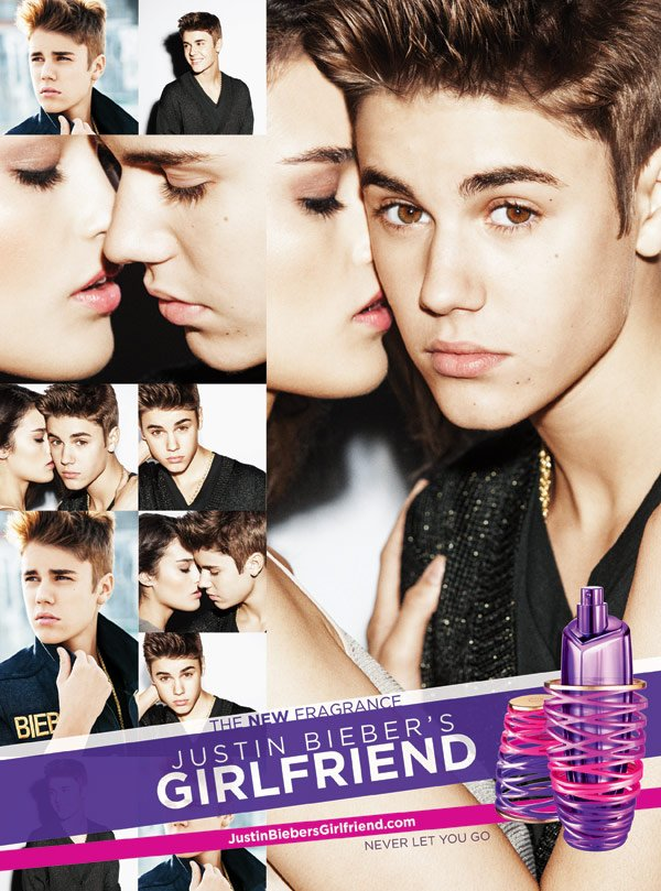 Justin Bieber's New Fragrance Ad: The Selena Gomez Look-Alike He Cast