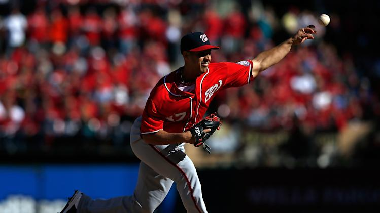 3rd Division Series - Washington Nationals v St Louis Cardinals - Game One