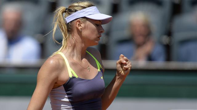 French Open - Sharapova overcomes Jankovic
