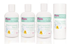 Pure+Simple's New Organic Lavender Baby Line