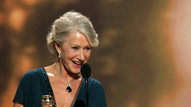 Helen Mirren takes home two awards from the Golden Globes.