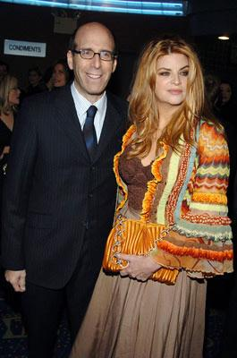 Showtime chairman Matthew C. Blank and Kirstie Alley at the New York premiere of Showtime's Fat Actress - 3/2/2005