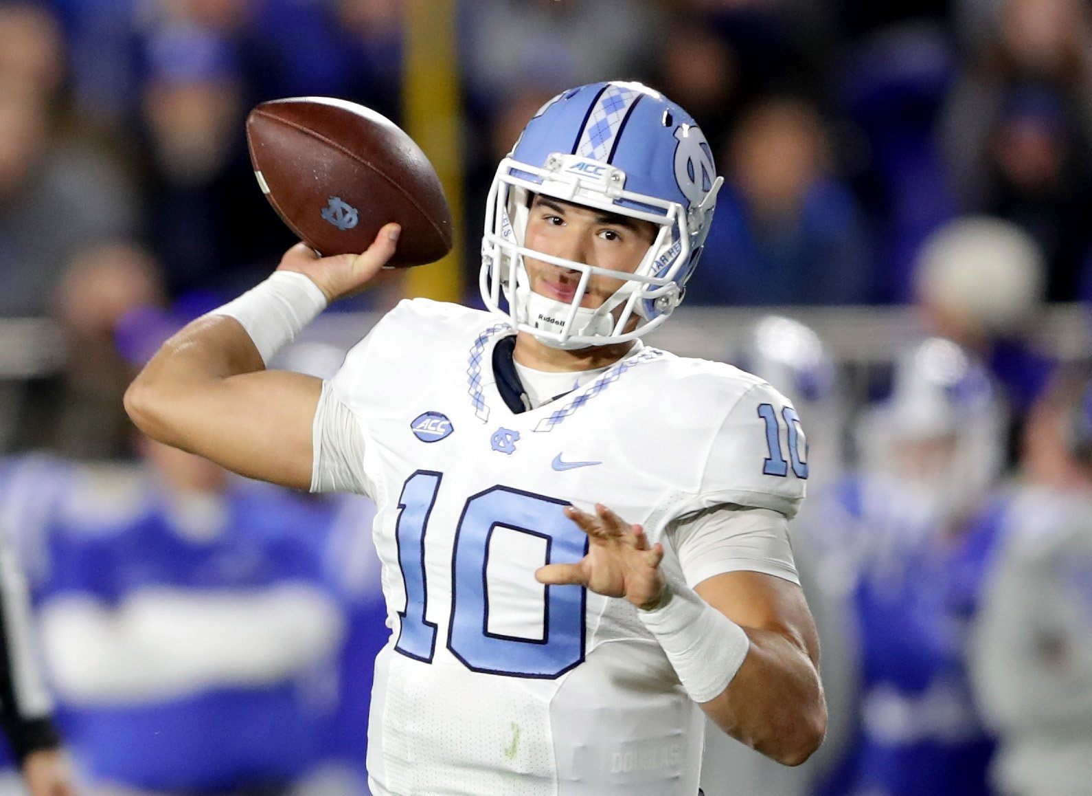 Mitch Trubisky could be a high first-round pick. (Getty)