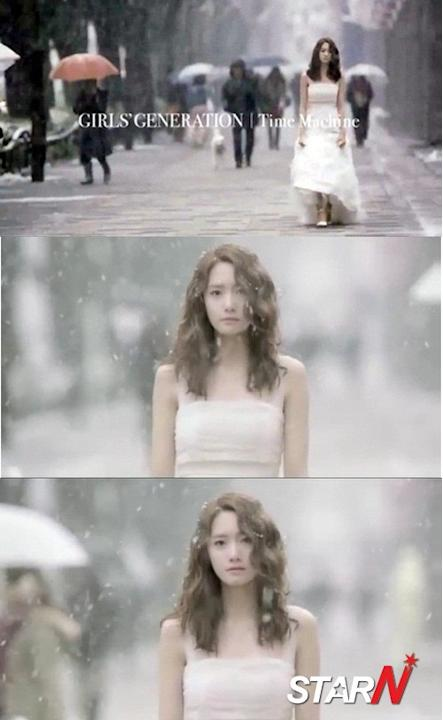 "Yoon-ah in a wedding dress looks like ""True Goddess"""