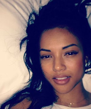 PHOTO: Chris Brown's Ex Karrueche Tran Tweets Sexy Bed Picture