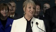 N.L. Premier Kathy Dunderdale sanctions the Muskrat Falls hydroelectric project.