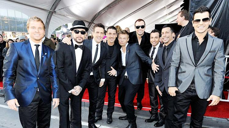 Backstreet Boys NKOTB AM As