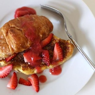 French Toast Croissants