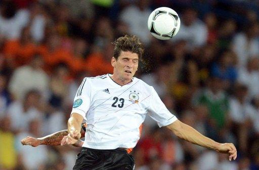 German forward Mario Gomez