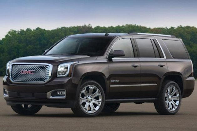 2015 gmc yukon denali winter car photo