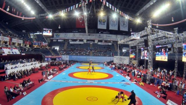 Wrestling - Iran's wrestling world champion Akbari banned for life