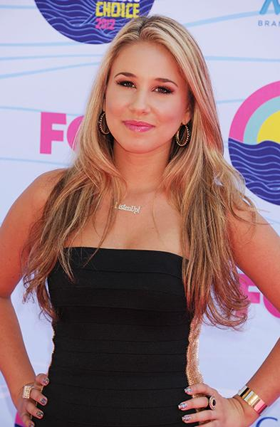 On the red carpet for the Teen Choice Awards this July