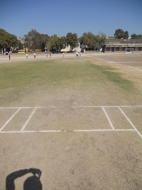 Story on Rajkumar College, Rajkot, Gujarat and Kumar Shri Ranjitsinhji and Kumar Shri Duleepsinhji also known as Ranji and Duleep. Photo by Skandan Sampath / Yahoo! Cricket