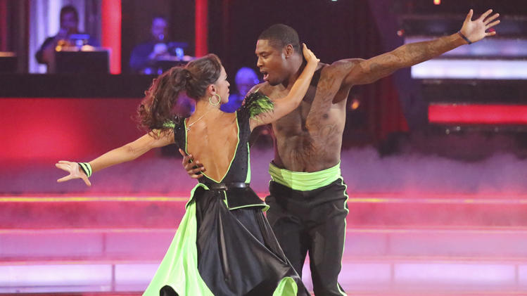 Karina Smirnoff and Jacoby Jones (4/22/13)