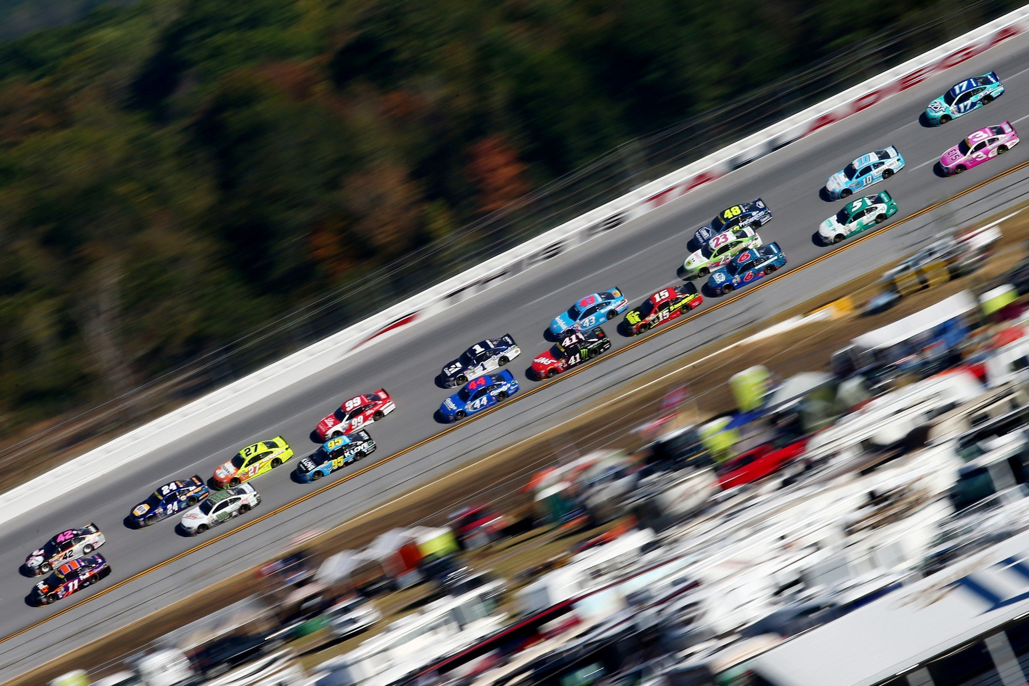 We're proposing that a driver must make 30 Xfinity and Truck Series starts before racing in Cup. (Getty)