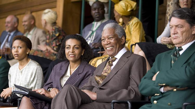 Invictus Production Photos 2009 Warner Bros. Morgan Freeman Leleti Khumalo Adjoa Andoh Danny Keogh